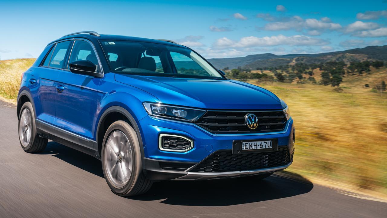 The model year 2021 Volkswagen T-Roc 110TSI Style.