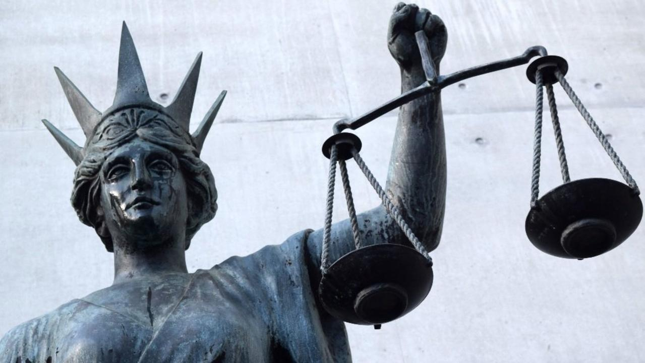 A Gladstone man who threw a pot plant holder at police in a drunken outburst appeared in the Gladstone Magistrates Court on Friday.