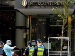 Intruder breaches Melbourne COVID hotel