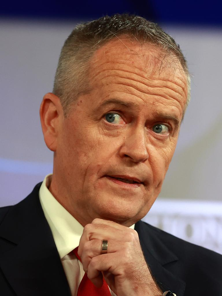 Bill Shorten has attacked the bureaucrats running the NDIS. Picture: NCA NewsWire/Gary Ramage