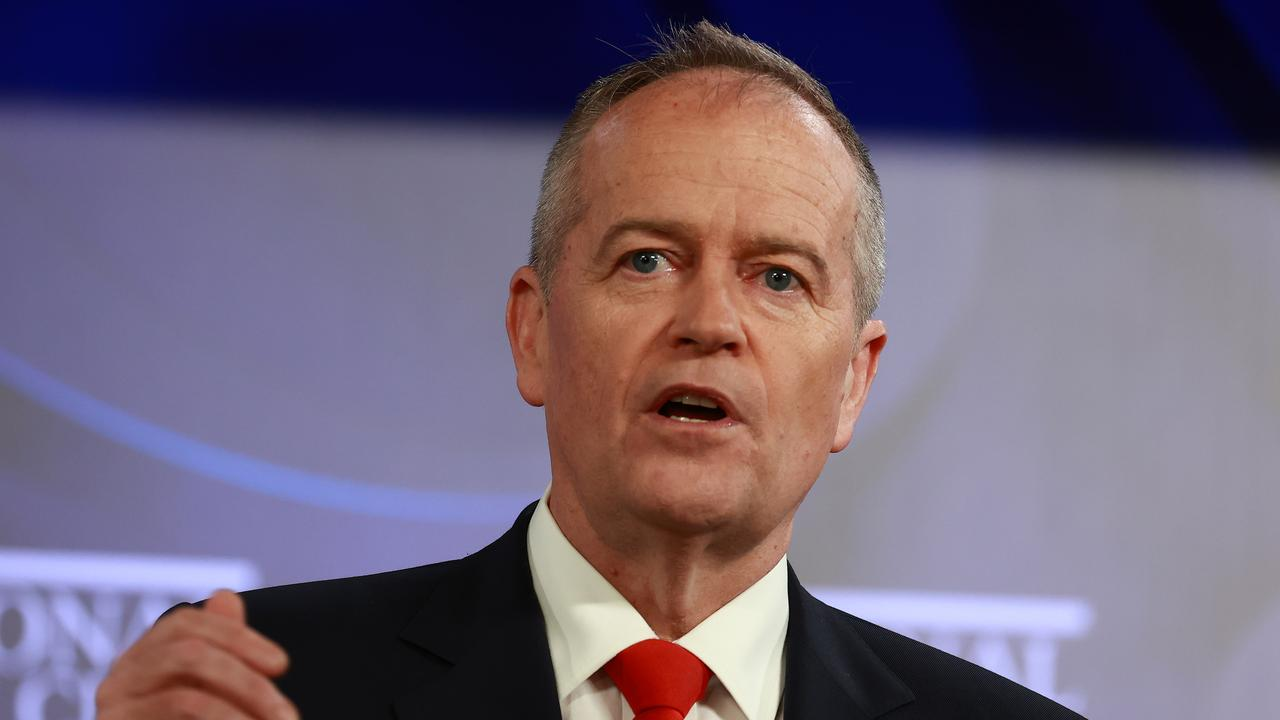 """Bill Shorten has copped backlash for """"disappointing"""" remarks where he labelled NDIS workers as """"Oompa-Loompas"""" and """"chimpanzees typing""""."""