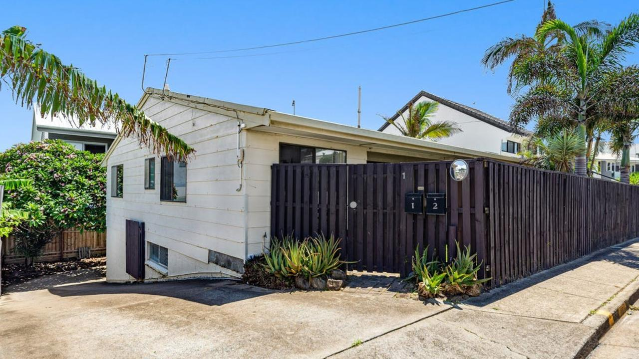 It might not look like much but this house on a 405 sqm block on Hedges Avenue is listed for $2.85 million