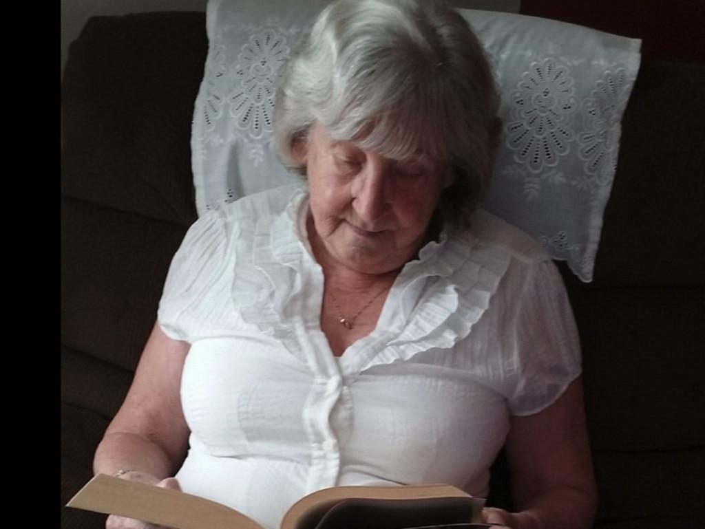 Maureen DeBoick, 80, developed dark bruising after receiving the coronavirus vaccine. Picture: Facebook