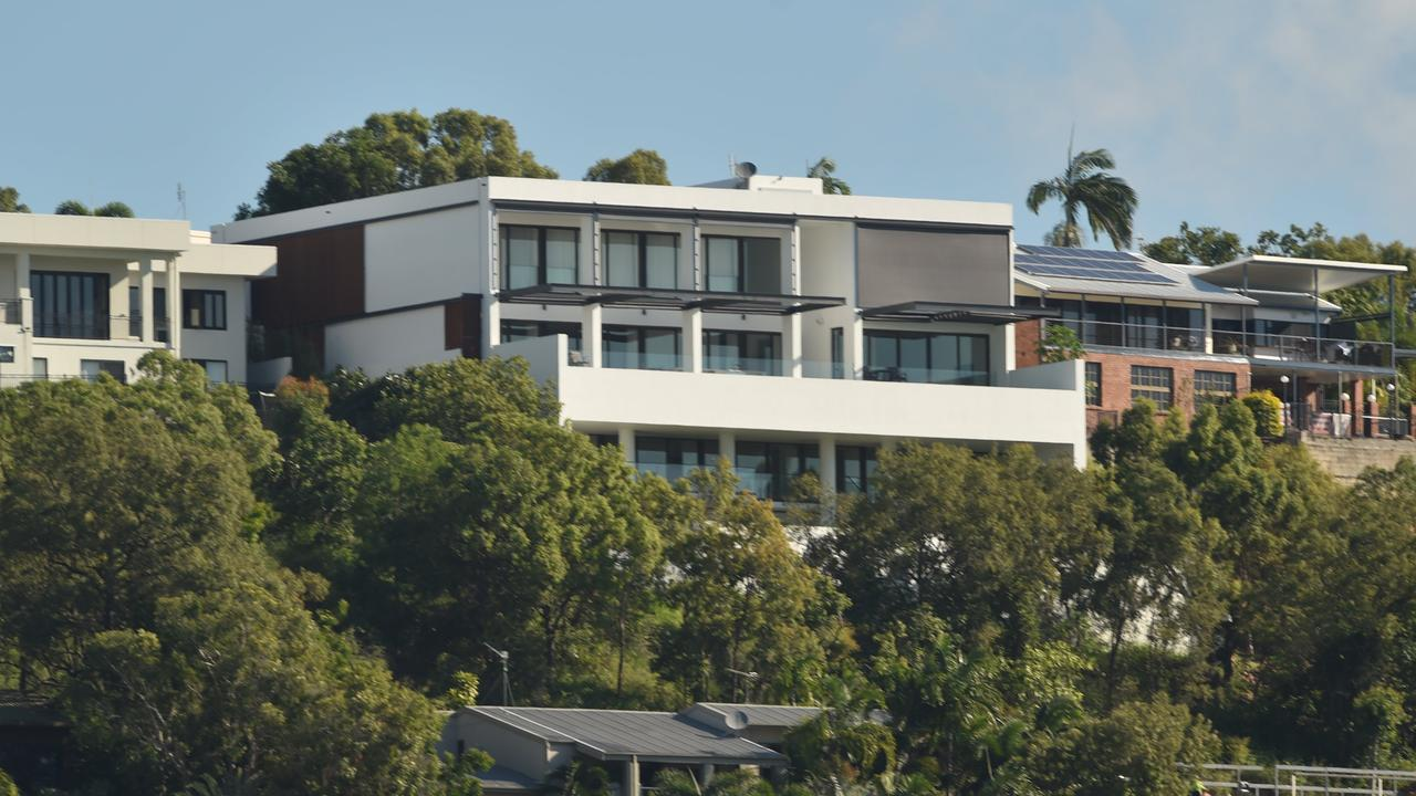 This Castle Hill mansion was picked up for $6 million by 1300Smiles managing director, Daryl Holmes. Picture: Evan Morgan