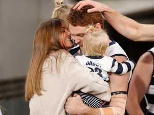 Kiss confirms AFL star's new romance