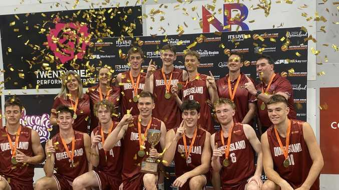 Basketball champions: Queensland takes title in Mackay