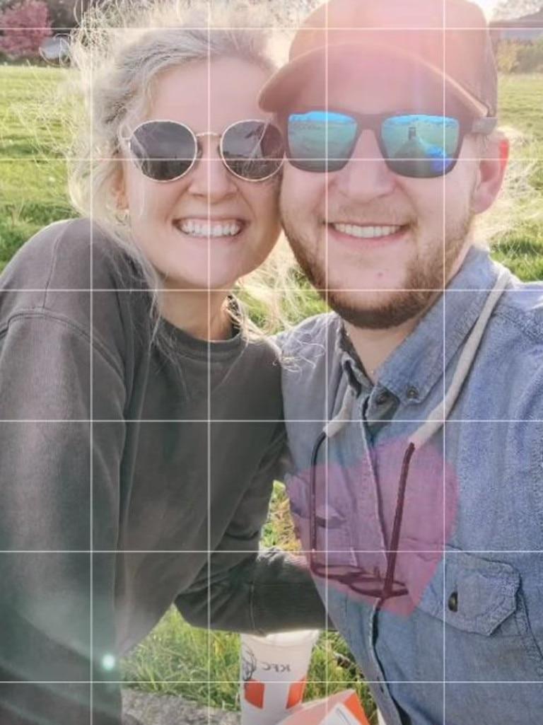 The happy couple. Picture: TikTok/higbogg