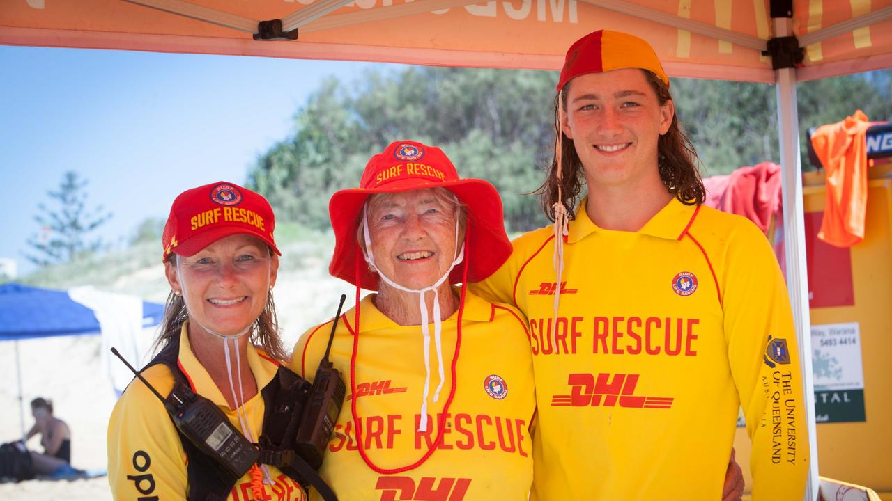 Nikki Firmin, Anna Firmin and Billy-Jack Cramp are all a part of Kawana Waters Surf Life Saving Club.