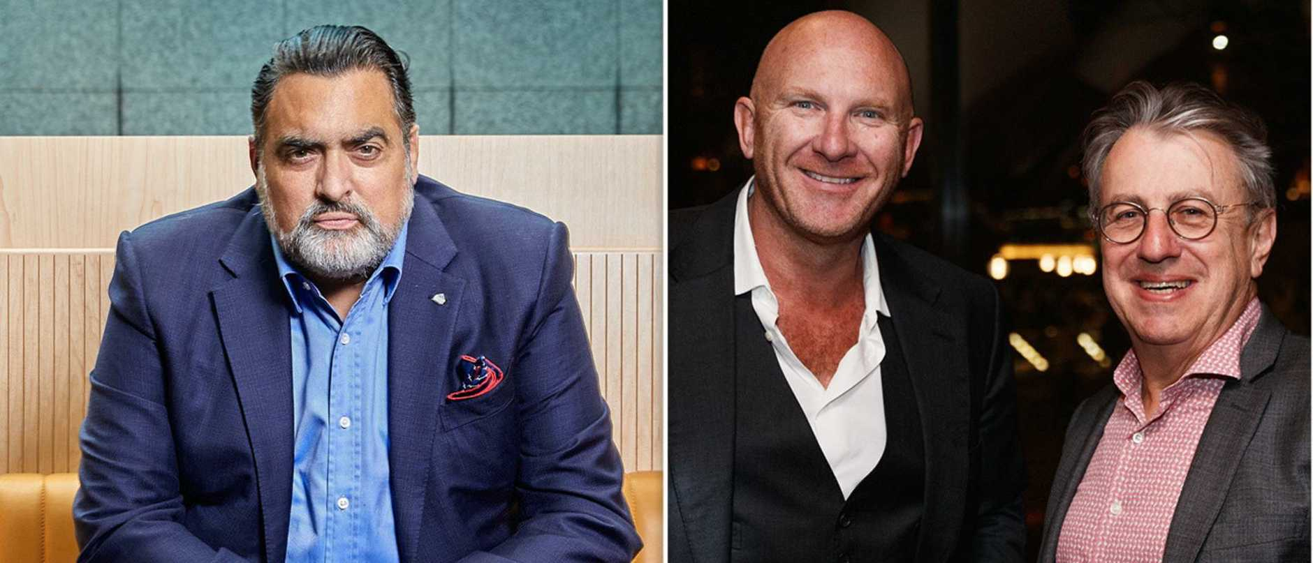 Landlord James Symond is battling pub mogul Bruce Solomon and celebrity chef Matt Moran for what he claims is unpaid rent from the failed Chophouse Parramatta.