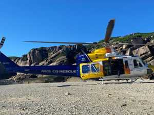 Boatie flown to hospital after near-drowning off Mackay