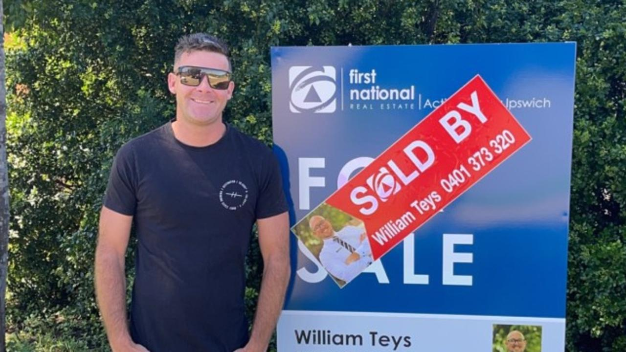 First home buyer Kane Ramon bought his