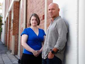 Gary Jubelin with 'The Mindhunter' Dr Sarah Yule, Forensic Psychologist