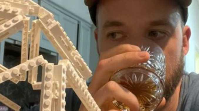 Hamish nails son's 'tricky' birthday cake