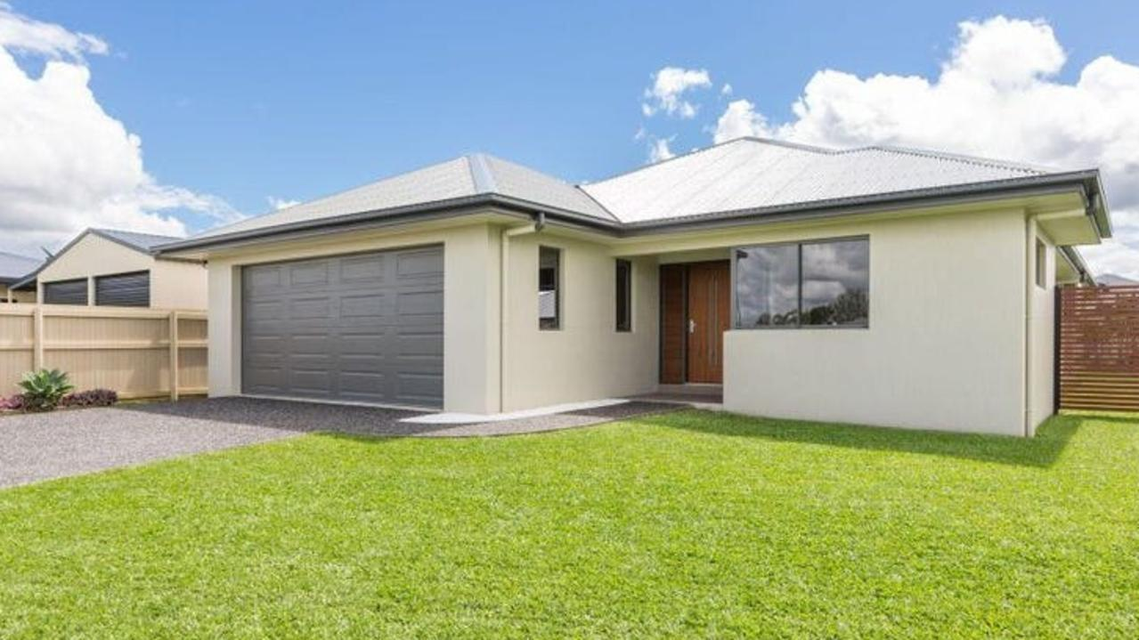 This house in Innisfail Estate is listed for $450,000. The suburb has a median house sales price of $267,500, but few listings.