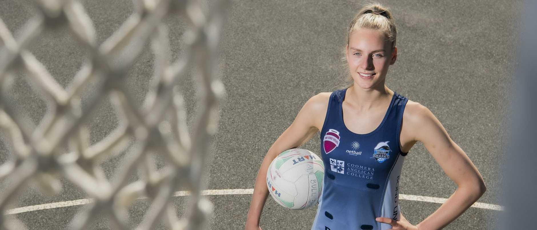 She's a netball prodigy from south of the boarder with a famous sporting brother back home — here's how Queensland managed to snap her up.