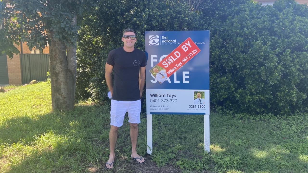 First homebuyer Kane Ramon bought his