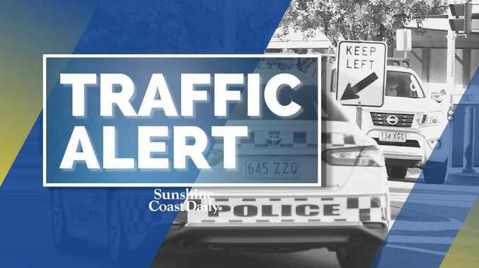 Bruce Highway lane blocked after truck crash