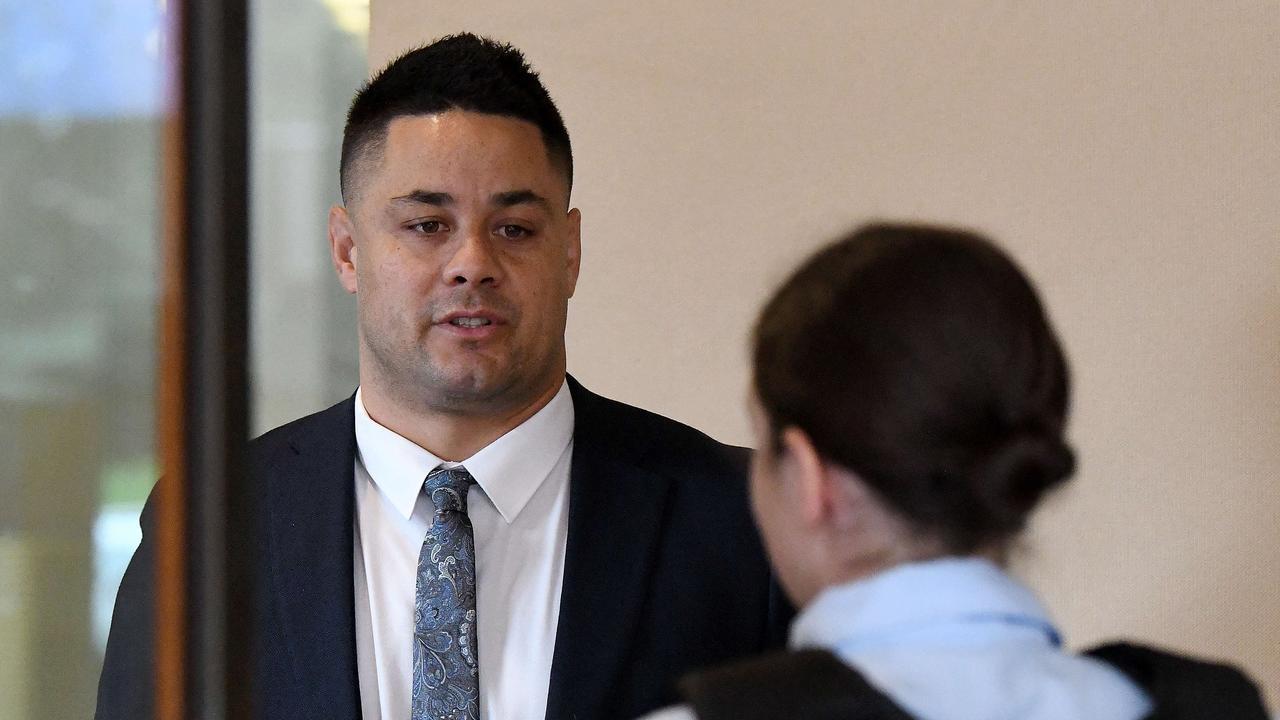 Jarryd Hayne was first taken to Parklea Correctional Centre. Picture: NCA NewsWire/Bianca De Marchi