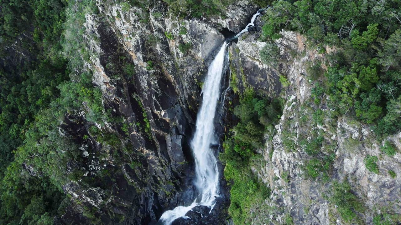 The hike to the waterfall is about 90 minutes from Malanda. Picture: Brendan Radke