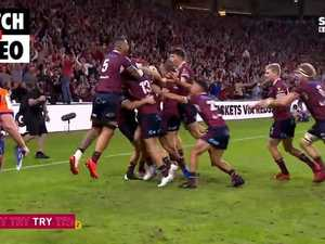 Queensland Reds win 2021 Super Rugby AU title in thrilling finish