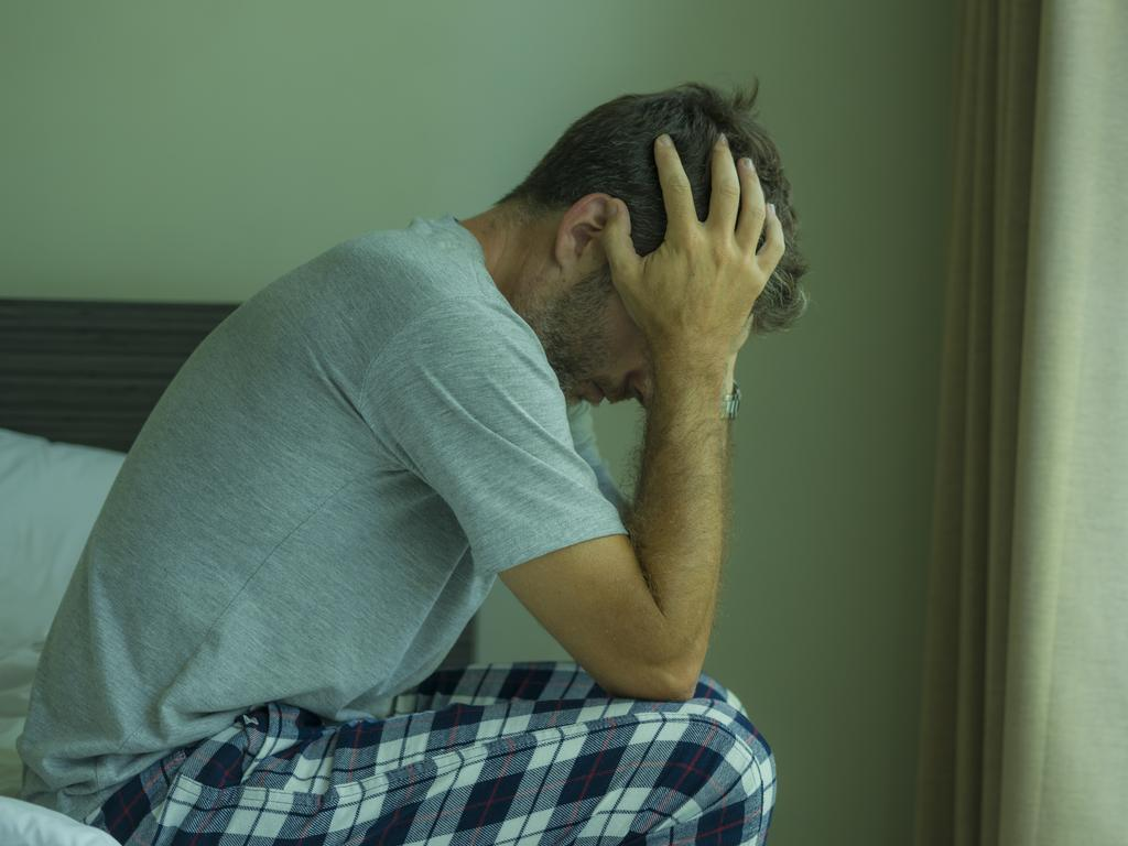 Men can often feel like they need to keep their sexual challenges a secret — even from their partners. Picture: iStock.