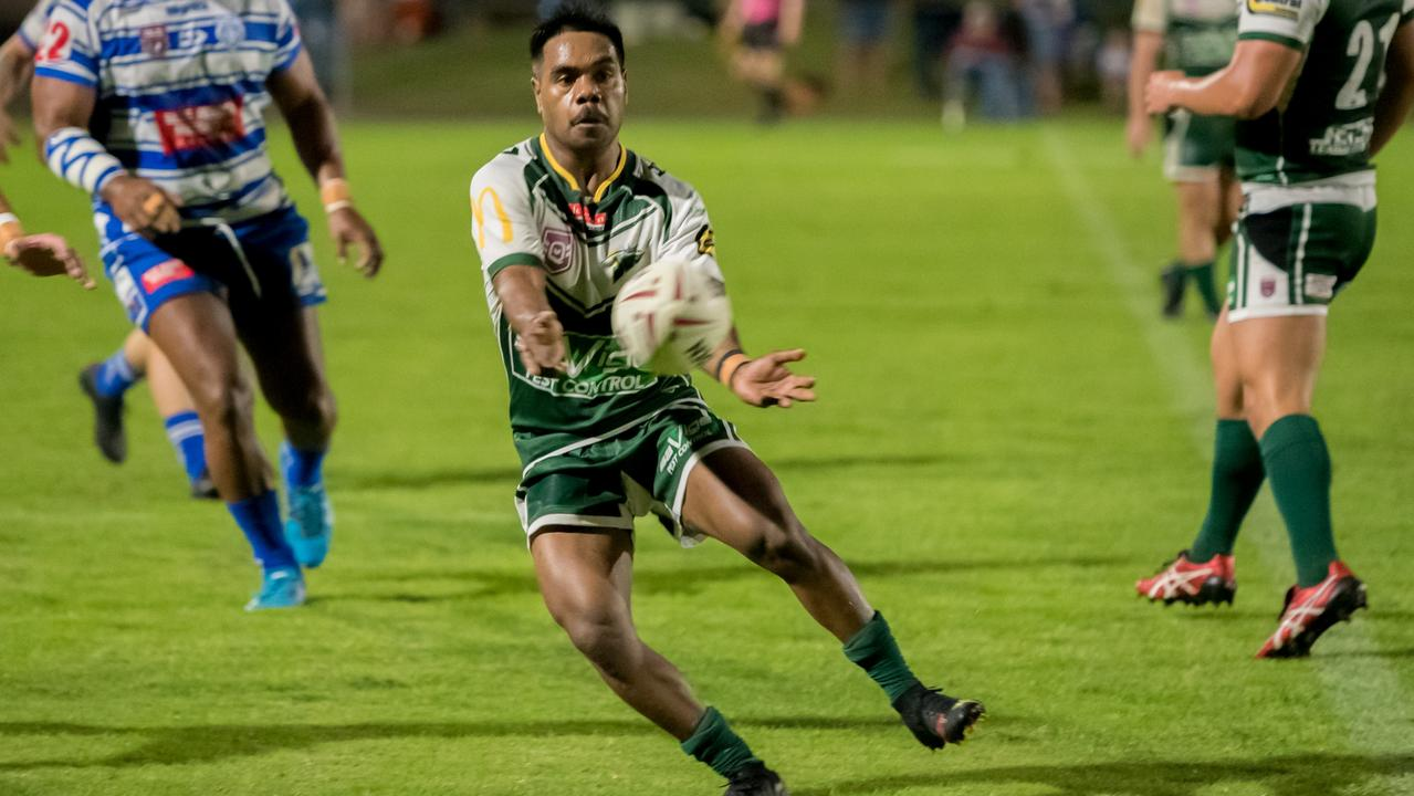 Ipswich Jets five-eight Izaak Toby booted four goals in his team's first win of the Rugby League Ipswich season. Picture: Bruce Clayton