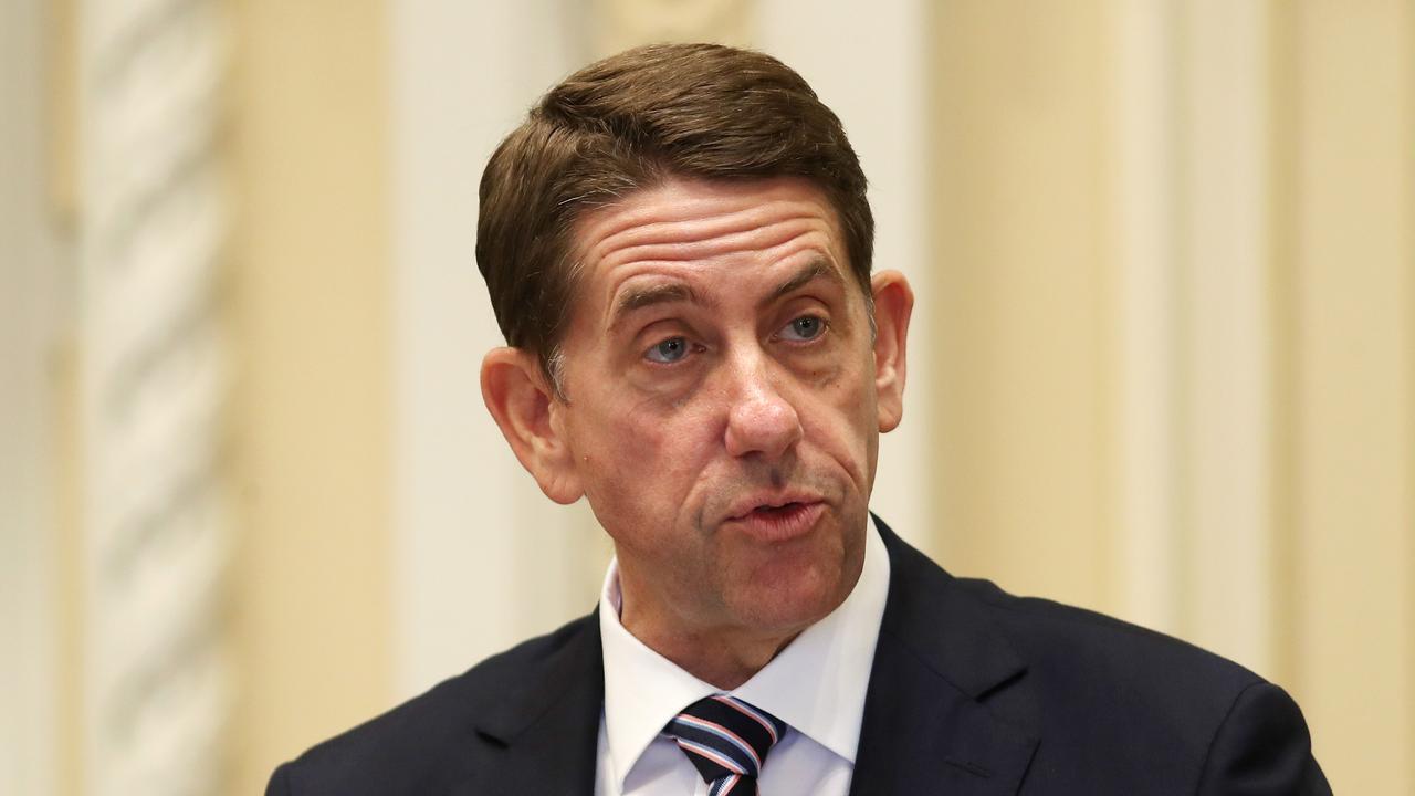 Treasurer Cameron Dick. Picture: Tara Croser