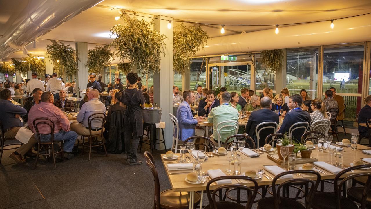 Celebrity chef dinner at Beef Australia