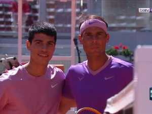 Nadal smashes compatriot on his 18th birthday