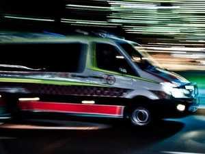 One hospitalised following rural crash overnight