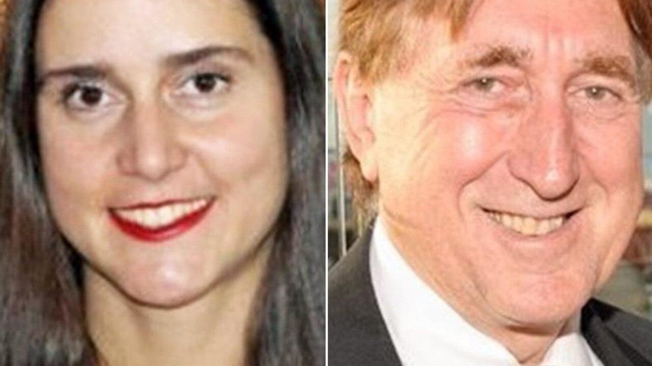 Olga and John Edwards.