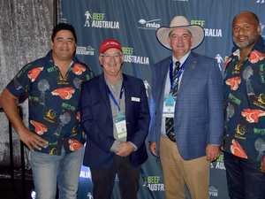 PHOTOS: Wallabies at Beef Australia Sportsman Lunch