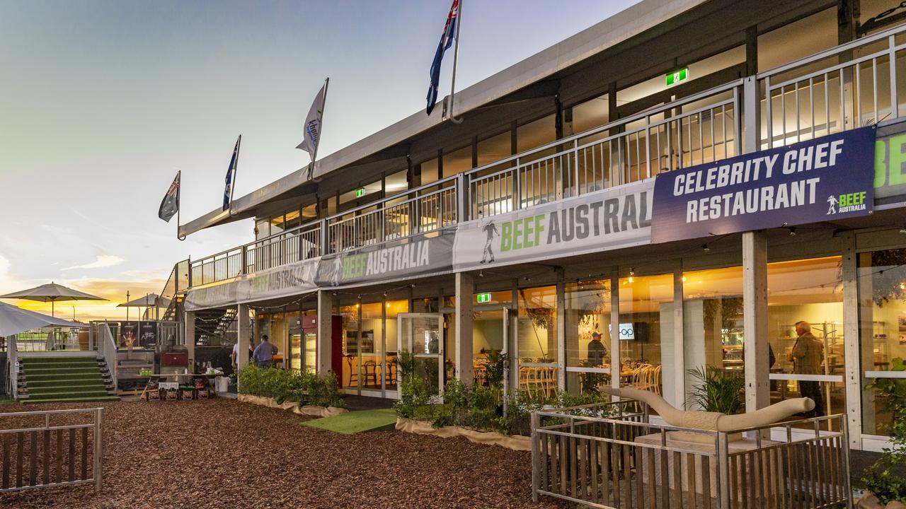 The pop-up celebrity chef kitchen at Beef Australia
