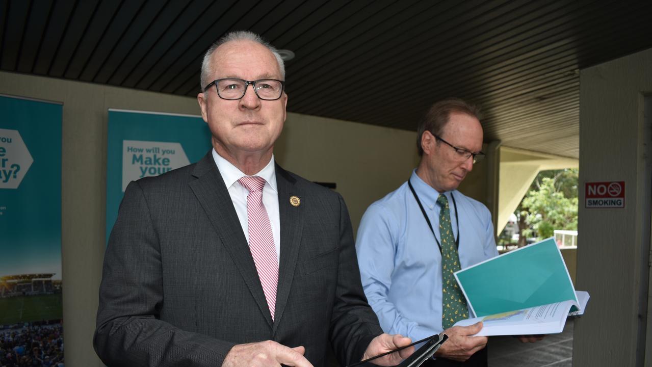 Sunshine Coast Mayor Mark Jamieson and Deputy Mayor Rick Baberowski recently announced the start of community consultation for the Mass Transit Plan Options Analysis.