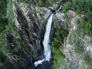 Hiker dies from 50m remote waterfall plunge
