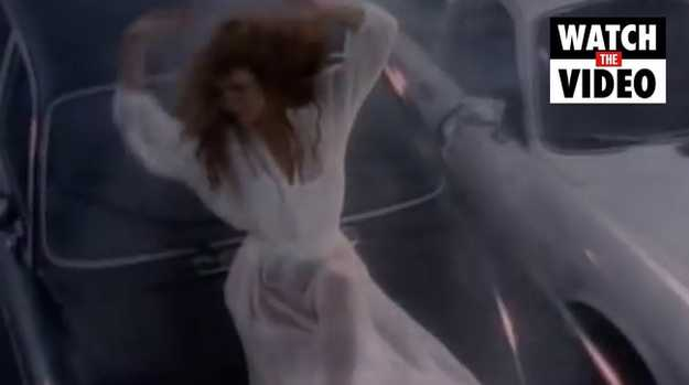 Tawny Kitaen stars in Whitesnake's 'Here I Go Again' music video