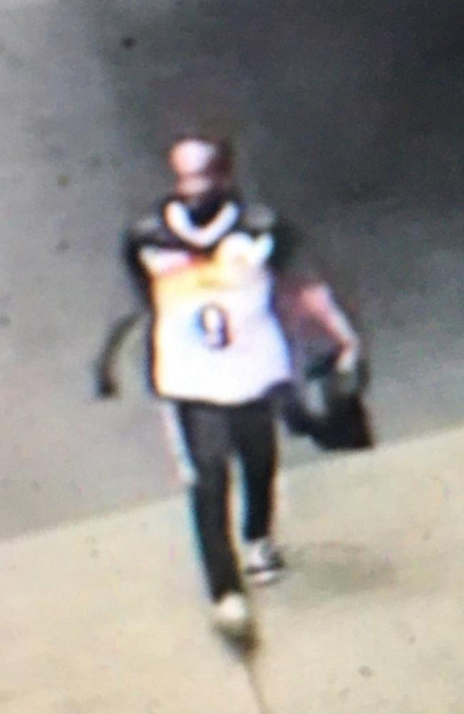 An image of the suspect released by the NYPD.