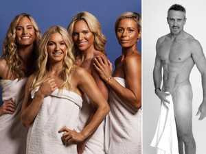 Qld celebs disrobe to back 'the towel challenge'