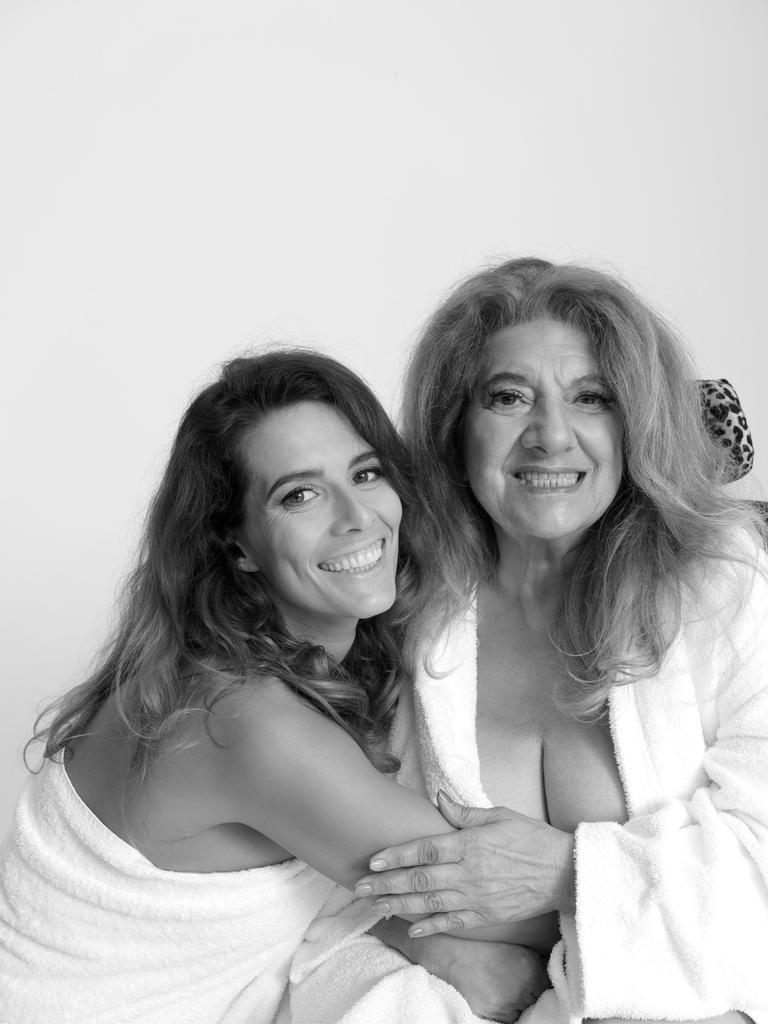 Maria Ventutti with daughter Bianca