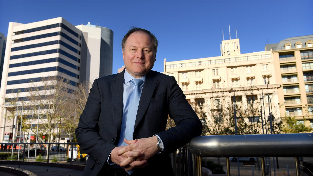 Outgoing Stockland CEO Mark Steinert has outlined the tough questions the region has to answer. Picture: Naomi Jellicoe