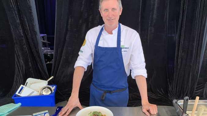 Celebrity chef cooks finest Aussie steak at Beef