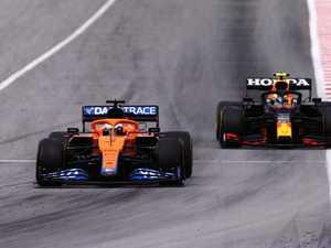 Ricciardo rips control from teammate