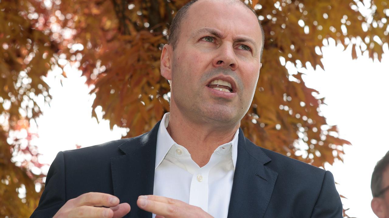 Treasurer Josh Frydenberg. Picture: NCA NewsWire / Gary Ramage