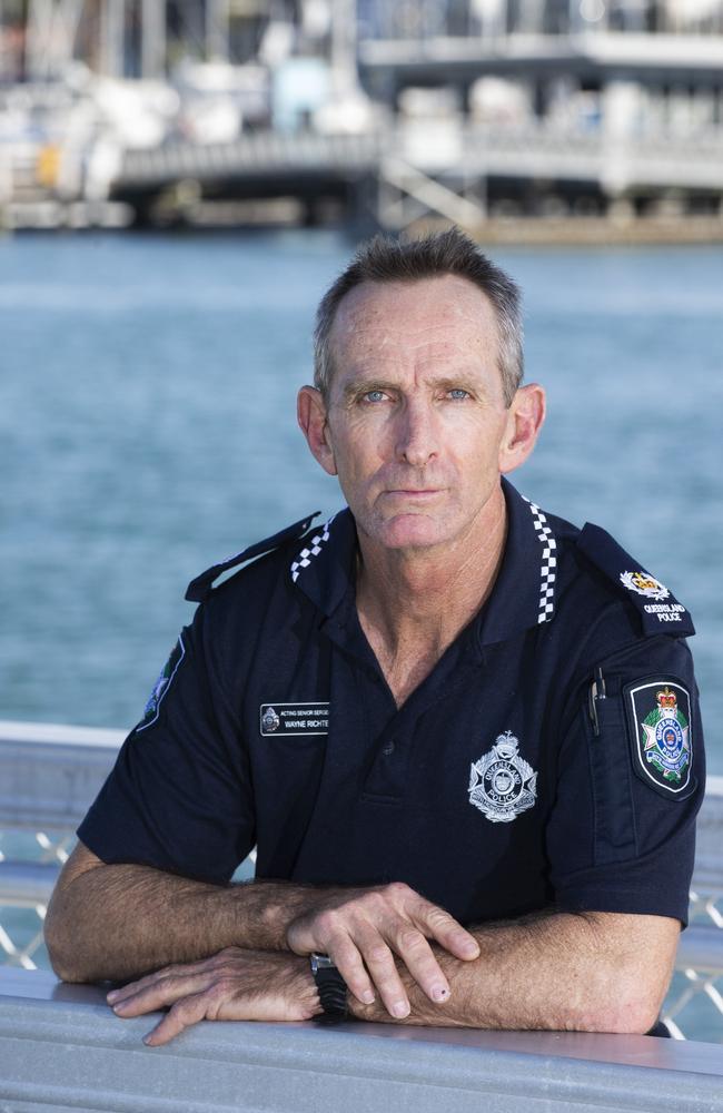 Wynnum Police senior sergeant Wayne Richter. (AAP Image/Renae Droop)
