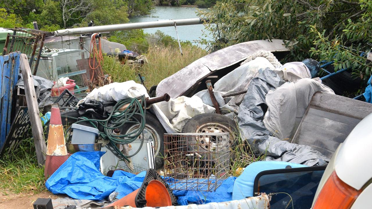 Illegal dumping at East Point in 2016. Picture: Tony Martin