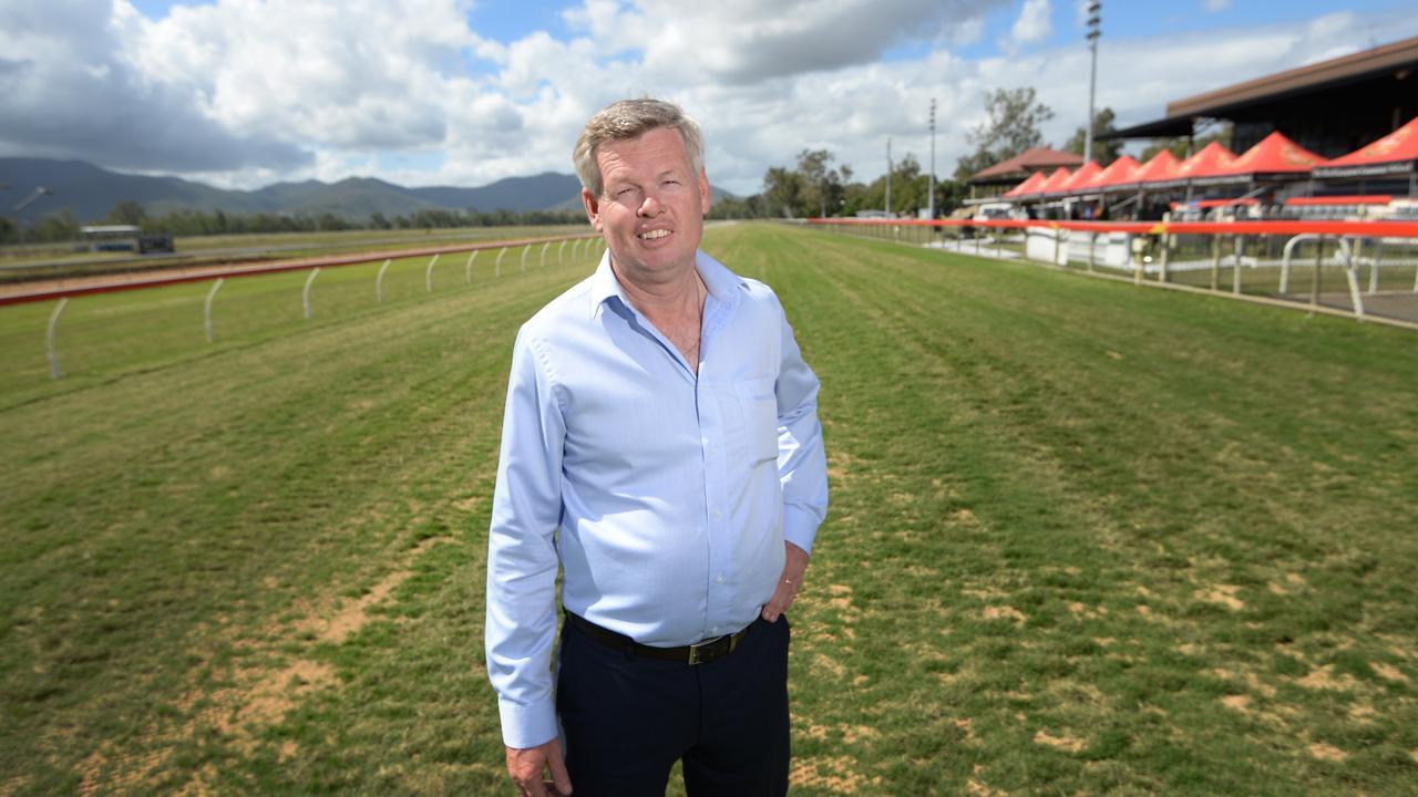 Rockhampton Jockey Club CEO Tony Fenlon. File photo.