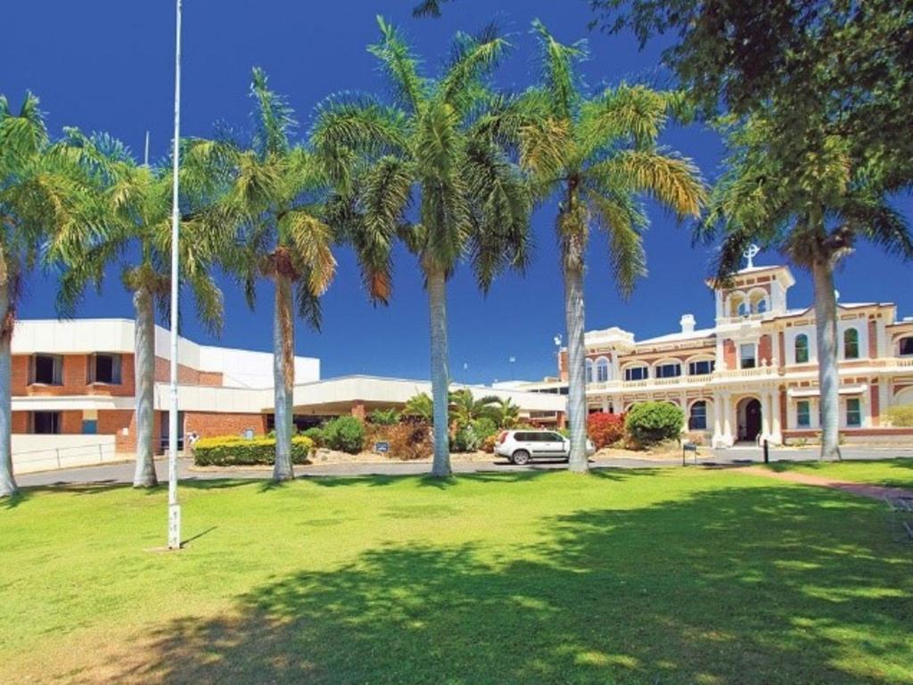 Mater Hospital in Rockhampton.