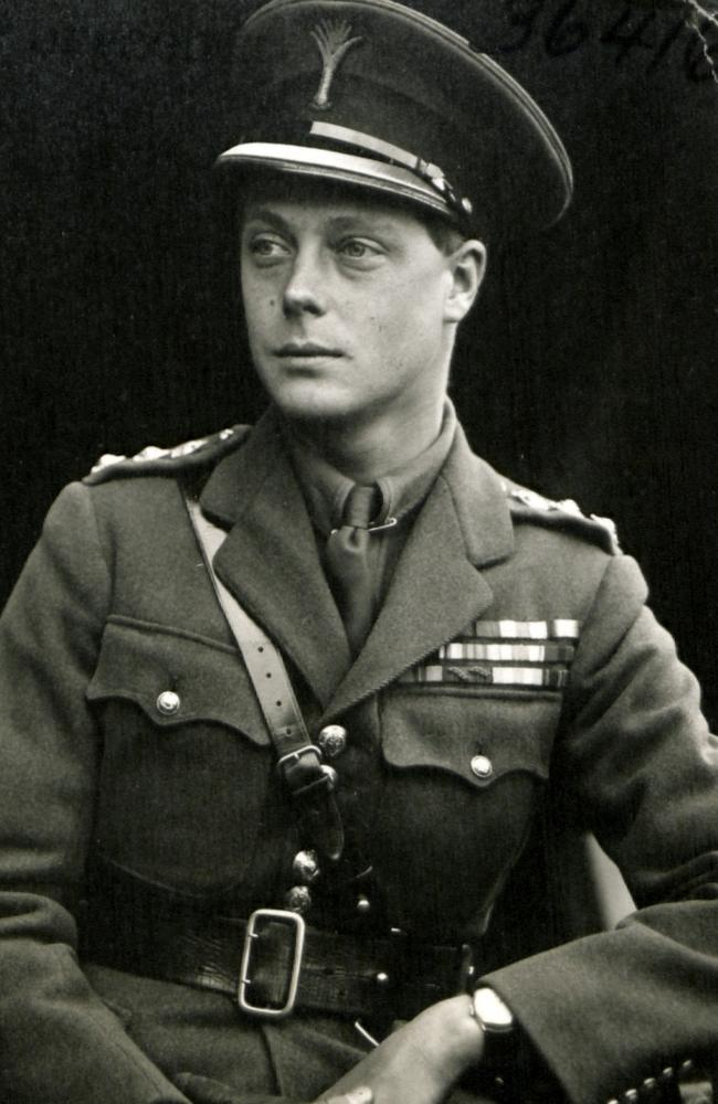 Edward, then the Prince of Wales, pictured in 1919.