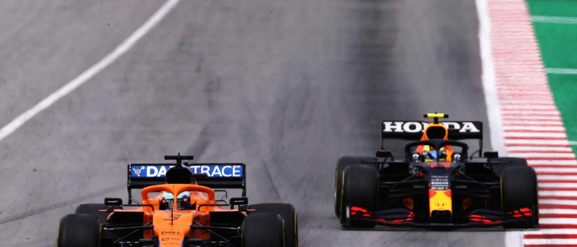 Move over, Lando! Daniel Ricciardo rips control from McLaren teammate