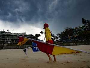 Severe weather systems on radar for Sunshine Coast